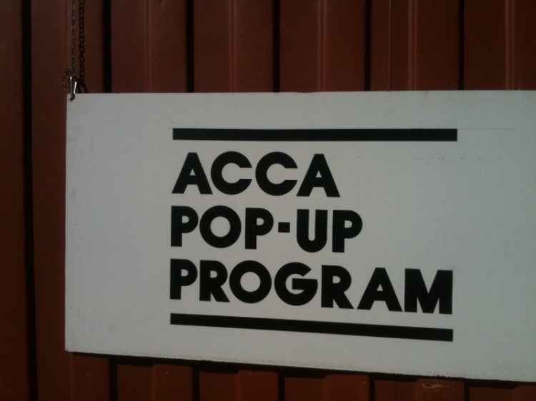 ACCA pop up program - Forecourt