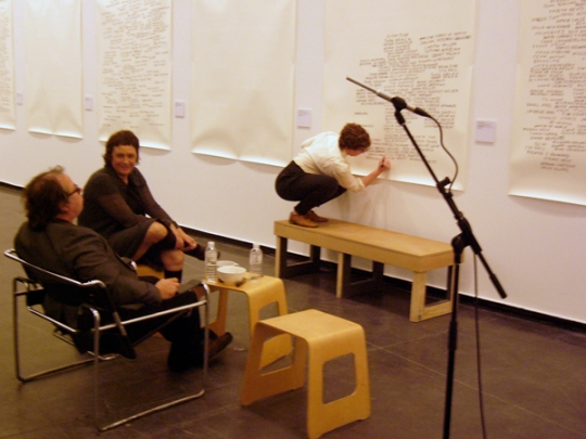 Agatha Gothe-Snape & David Haines and Joyce HInterding