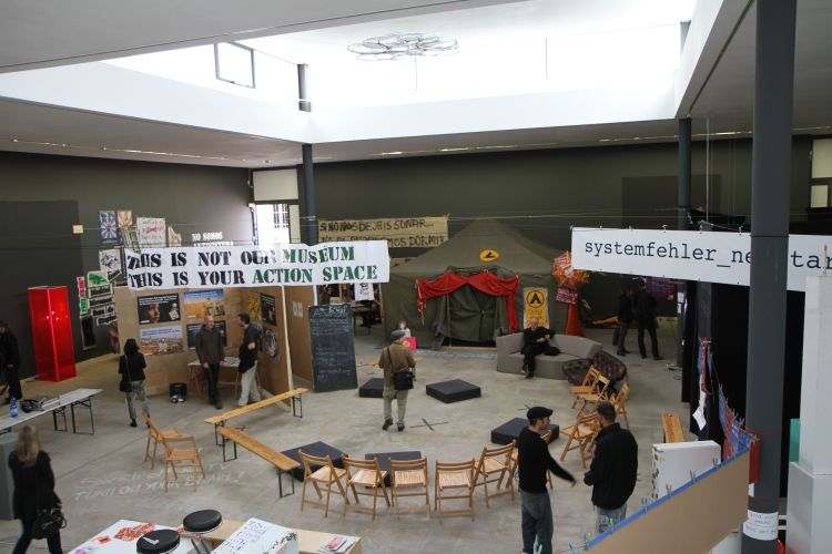 Occupy, Berlin Biennale